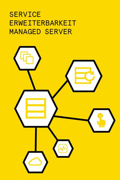 Service Erweiterbarkeit Managed Server (Hosting)
