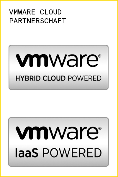 VMware Partner: IaaS Powered und Hybrid Cloud Powered