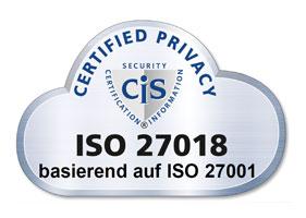 ISO-27018 Datenschutz in der Cloud