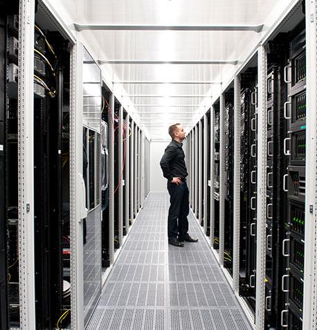 Zertifizierte Rechenzentrumsinfrastruktur